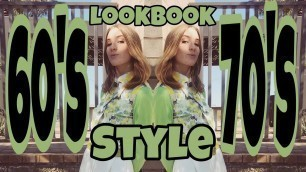 'First lookbook of 2020!! | 60's 70s style'
