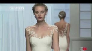 'ROSA CLARA\' Barcelona Bridal Week 2015 by Fashion Channel'