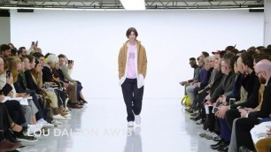 'Lou Dalton Fall/Winter 2016/2017 Menswear Collection - London Fashion Week'