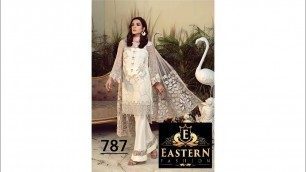 'D.NO 787 | EASTERN FASHION | FANCY DESIGNER DRESS  | WHOLE SALE MARKET IQBAL CLOTH MARKET | KARACHI'