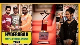 'Hyderabad People\'s Choice Awards 2020 | Event Clips | Raza & Friends Foundation | Pareshaan Anna'