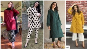'Simple & Stylish Kurti/Kurta Casual Wear Dress Designing Detailing For Girls #Spring&Summer'