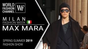 'Max Mara | Spring-summer 2019 | Milan fashion week'