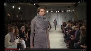 "'\""TEMPERLEY LONDON\"" London Fashion Week Fall Winter 2014 2015 by Fashion Channel'"