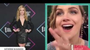 'People\'s Choice Awards Red Carpet Fashion: Mila Kunis, Sabrina Carpenter, Kat McNamara and More   E!'