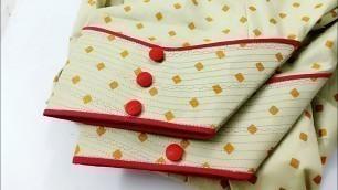 'Latest SALWAR PONCHA DESIGN/Punjabi salwar mohri design'