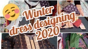 'Winter#dress designing#2020# how to design your dresses# stitching ideas#how to make dress formal'