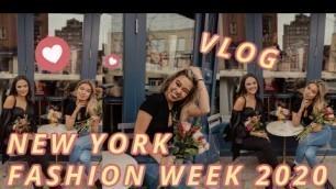 'NEW YORK FASHION WEEK VLOG 2020 | ELLERY LEE'