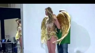 'Behati Prinsloo-Victoria\'s secret fashion show 2014'
