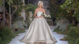 'Reem Acra | Bridal 2019 | Barcelona Bridal Fashion Week 2018'