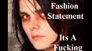 'It\'s Not a Fashion Statement, It\'s a Fucking Deathwish! (Lyrics)'