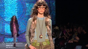 'ANNA SUI MERCEDES-BENZ FASHION WEEK FW 2015 COLLECTIONS'