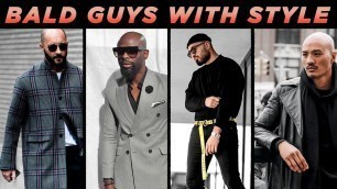 '5 BALD Guys With GREAT Style | Bald Men's Fashion Inspiration | StyleOnDeck'