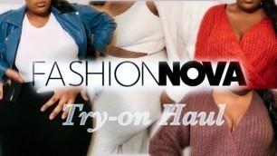 'FASHION NOVA TRY-ON HAUL | WINTER CLOTHING HAUL | BLACK FRIDAY, CYBER MONDAY 2020 | CHANNEL MIYA'
