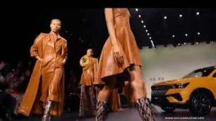 'New York Fashion Week Fall Winter 2020 -  Sheguang Hu Offered One of the Top Collections During NYFW'