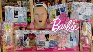 'NEW BARBIE 2020 FASHION 2 PACKs PART 1'