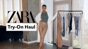 'ZARA TRY-ON HAUL | FALL/WINTER HAUL 2020'