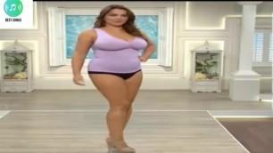 'plus size fashion show ! beautiful ladies,Desi Without Dress ,fashion 2017 !! plus size models'