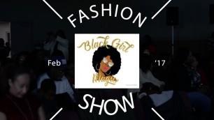 'Black Girl Magic Fashion Show'