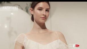 'MONIQUE LHUILLIER New York Bridal Fashion Week Fall 2018 - Fashion Channel'