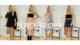 'Black Friday online shopping Try on haul I Fashion nova, Romwe, shein, CN Direct'