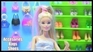 'Accessories for Dolls! Barbie Doll Crafts: How To Make An Accessory Store: Shoes, Jewelry, Hand Bags'