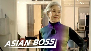 'Meet a 77-Year-Old Grandma Model In Korea | EVERYDAY BOSSES #32'