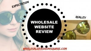 'Women\'s Wholesale Clothing Website Review / Haul : WholesaleFashionSquare.com'