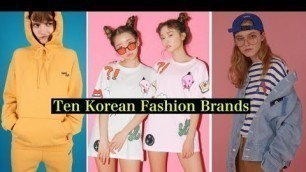 'My Favorite Online KOREAN FASHION Stores'