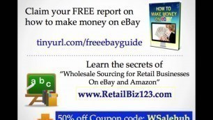 'What is FOB (Freight on Board) - Wholesale, Retail definition series ebay Amazon'