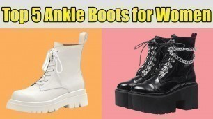 'Best Ankle Boots for Women'