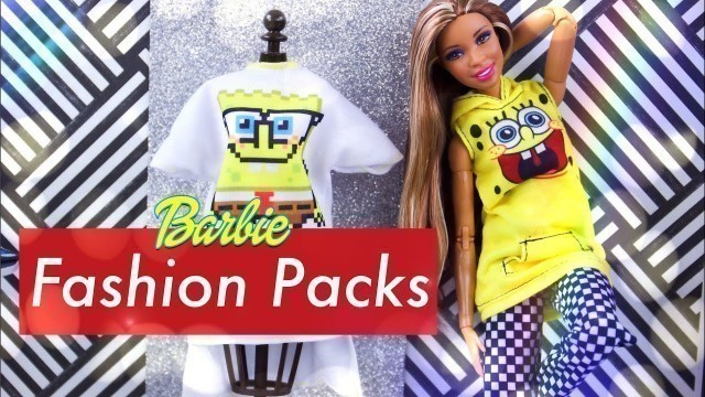 'Unbox Daily: ALL NEW Barbie Fashion Packs Haul'