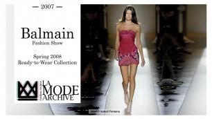 'Balmain Fashion Show - Spring 2008 Ready-to-Wear Collection.'