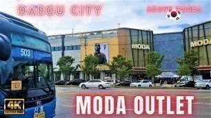 'Moda Outlet at Daegu City  South Korea International Fashion Brands 모다아울렛'