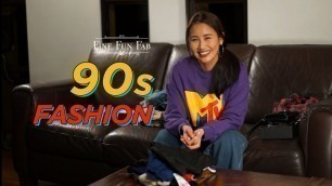 90s Fashion Trends! Revisiting the 1990s look, style, outfits and trends!