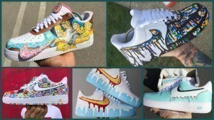 '[PART 1] IDEAS ON HOW TO CUSTOMIZE YOUR NIKE AIR FORCE 2020 | DIY CUSTOM NIKE AIR FORCE 1| DIY 2020'