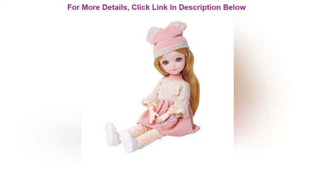 'Best Fashion 31cm BJD Doll Toys With Accessories Clothes Shoes bjd Movable Joints Dolls Toy For Gir'
