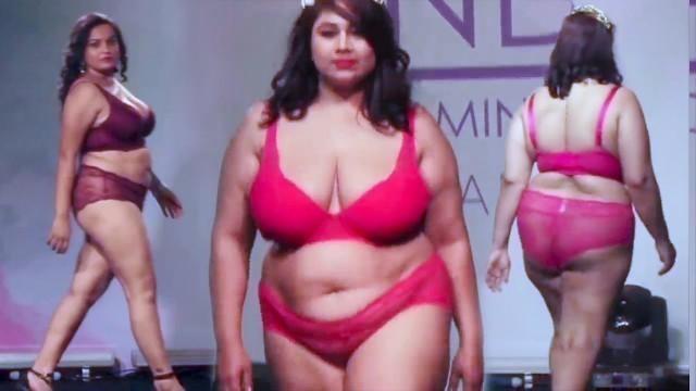 'India\'s First & Hottest Plus Size Bikini Fashion Show Ever | Part 3'