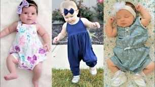 'Most demanding Newest arrival baby fashion designer baby romper and baby jumpsuit design ideas'