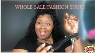 'WAIT $10 shoes ?!?    WHOLESALE FASHION SHOES !'