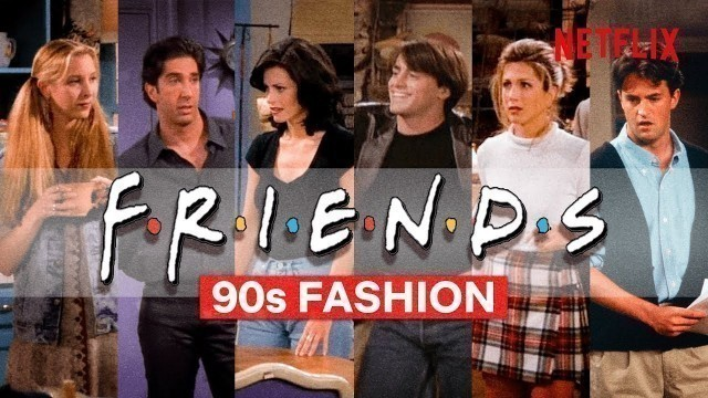 All The Best '90s Fashion Moments From Friends