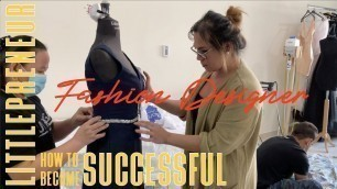 'HOW TO BECOME A FASHION DESIGNER | Kikie will share her experience how she start her clothing brand.'