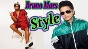 'Bruno Mars Style. Bruno Mars Clothes. Bruno Mars\'s Fashion Style'