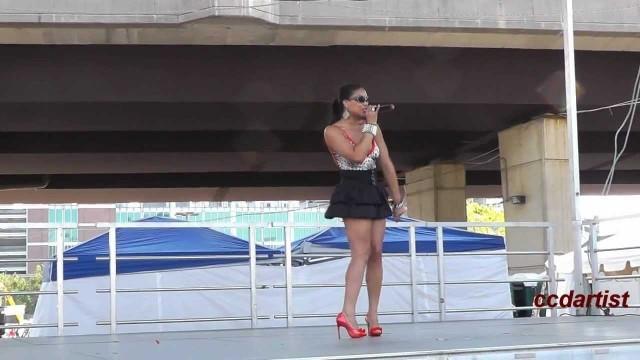 African American Festival 2012: Top Model