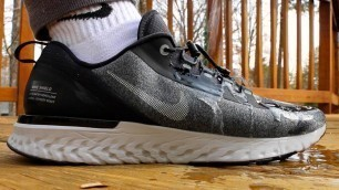 'Solution To Wet Socks (Nike Odyssey React Shield Review)'