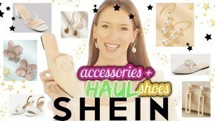 ✩ HUGE SHEIN JEWELRY + SHOES HAUL 2020! *very affordable* ✩ Shein Accessories Haul Review + Try On ✩