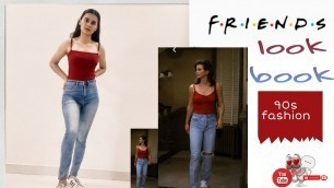 Friends outfit||  90's fashion|| look book|| recreation || fit in fashion