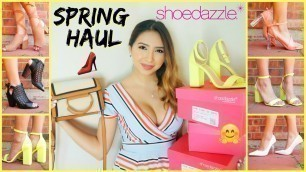 AFFORDABLE SPRING HAUL | Shoes & Bags ft. ShoeDazzle
