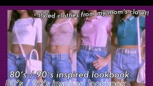☆ 90s/ Early 2000s Y2K inspired outfits + STYLING MY MOM'S CLOTHES ☆ Philippines