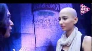 'interview with bald  model Tia singh (chennai fashion week)'